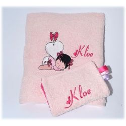 "Serviette de table ""DOCTEUR NOUNOURS"""