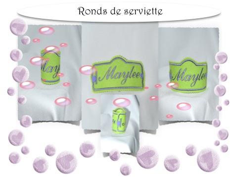 torchon pochette serviette set de table sac pains. Black Bedroom Furniture Sets. Home Design Ideas