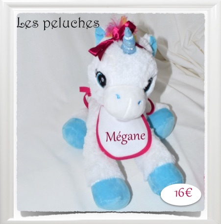 LES PELUCHES A BRODER